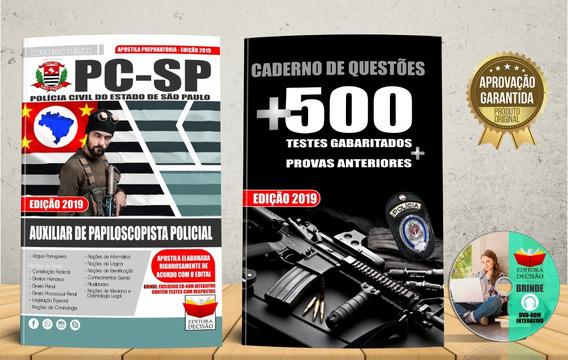 Apostila Auxiliar De Papiloscopista 2019 Polícia Civil-sp