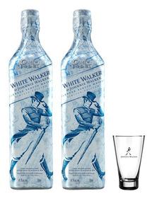 Combo Johnnie Walker Whitewalker Colecionador (2 Jw White Wa
