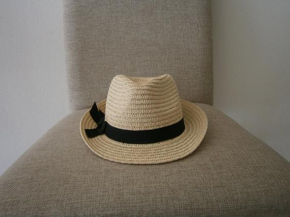 Sombrero De Paja-toquilla, Casual, Nuevo, Unisex, Beige