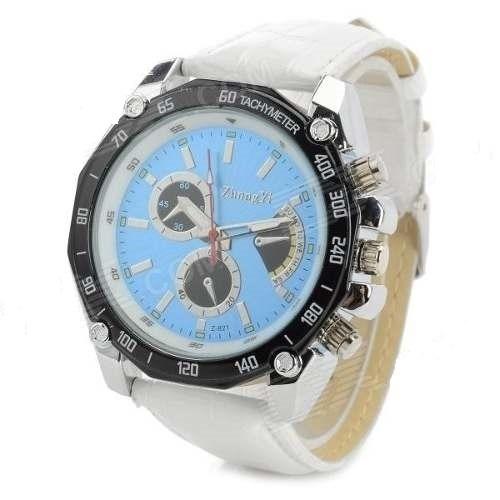 Relógio De Pulso De Quartzo Analógico Azul
