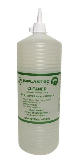 Cleaner Limpeza De Placas Eletrônicas 1 Litro Implastec