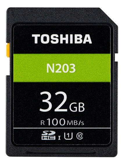 Cartão De Memória 32gb 100mb/s Sdxc Uhs-i Toshiba