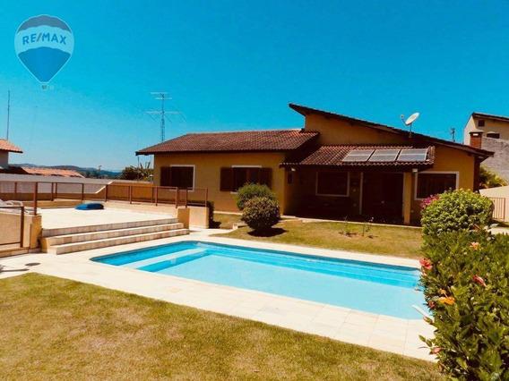 Casa Com 3 Dormitórios À Venda, 302 M² Por R$ 980.000,00 - Vale Do Sol - Bom Jesus Dos Perdões/sp - Ca5267