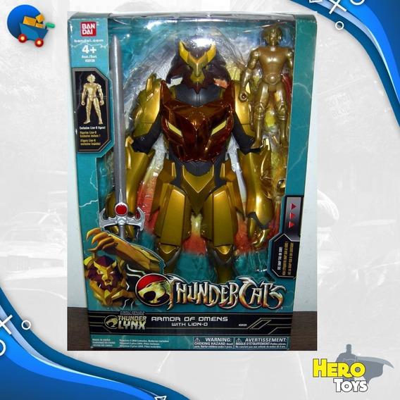 Thundercats Lion-o Armor Of Omens 30cm Luz Sons Boneco Novo