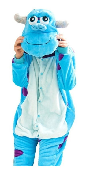 Pijama Monsters Inc Sullivan Kigurumi Kawaii Entero Adulto