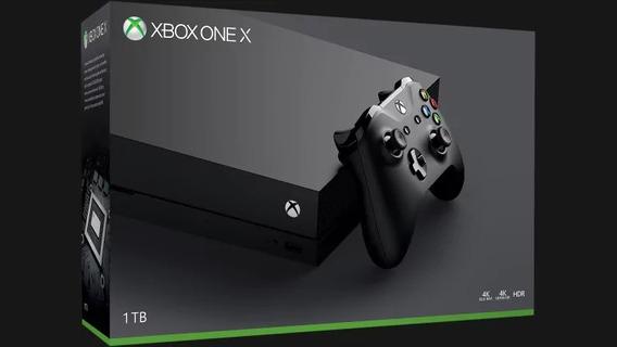 X Box One X 1tb 4k Ultra Hd