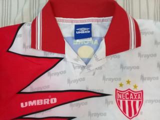 Jersey Club Necaxa Rayos 1998 Umbro Talla Ch De Niño