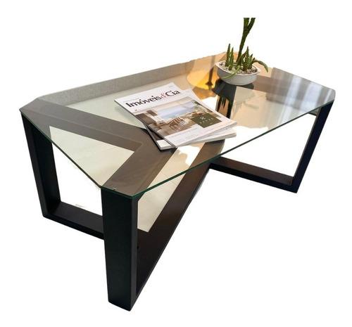 Mesa Ratona / Living - Diseño Minimalista - Tipo Industrial-