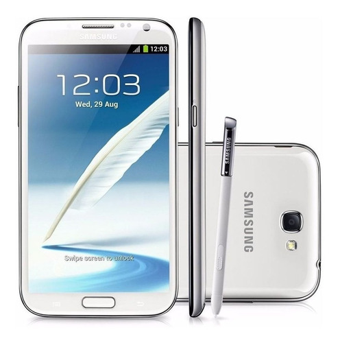 Celular Smartphone Samsung Galaxy Note 2 N7100 16gb Branco - 1 Chip