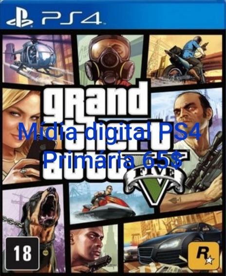 Gta V Ps4 Mídia Digital