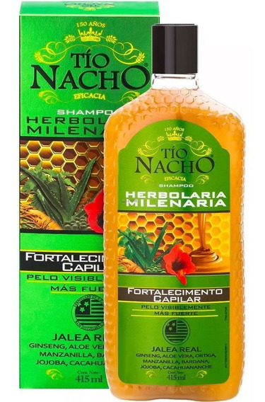 Tio Nacho Shampoo Anti Caida Herbolaria Milenaria X415ml