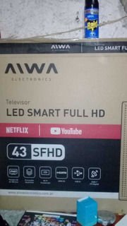 Tv Led Smart 43 Aiwa - Repuesto Pantalla