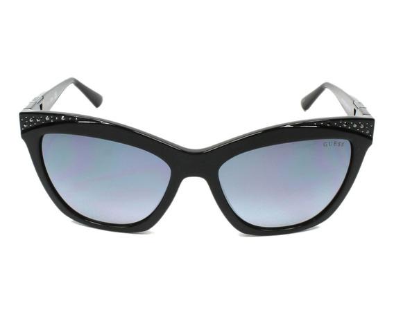 Óculos Guess Feminino Solar (original) Acetato + Brinde (j)