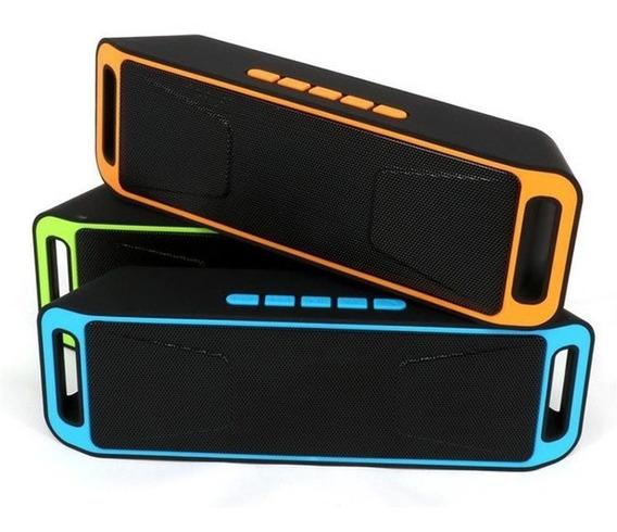 Corneta Altavoz Speacker Bluetooth Radio Pendrive Tarjeta Sd