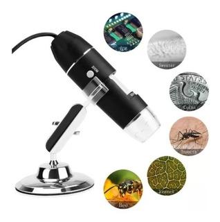 Microscopio Electronico 1600x Usb Con Luz Led Graduable 2019