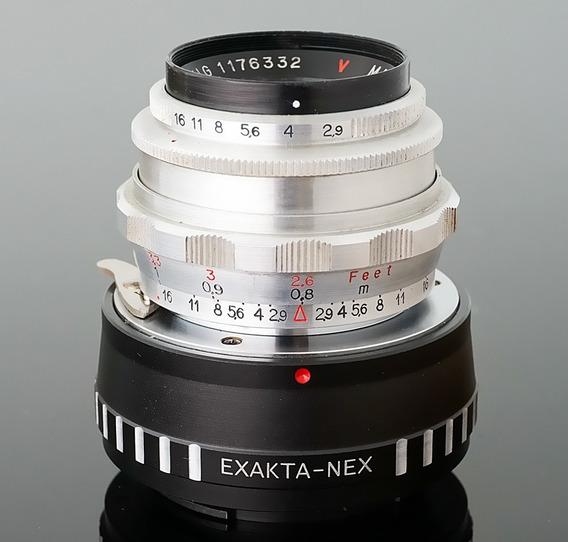 Lente 50mm F2.9 Ludwig Meritar + Adaptador Novo Sony E-nex