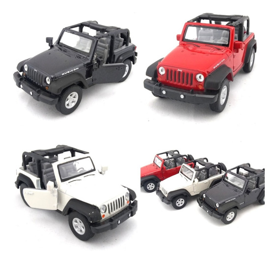 Miniatura Jeep Wangler 2018 Escala 1/34