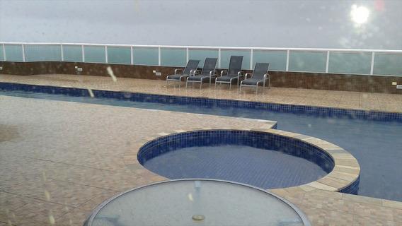 Apartamento Em Praia Garnde, No Bairro Guilhermina - 4 Dormitórios