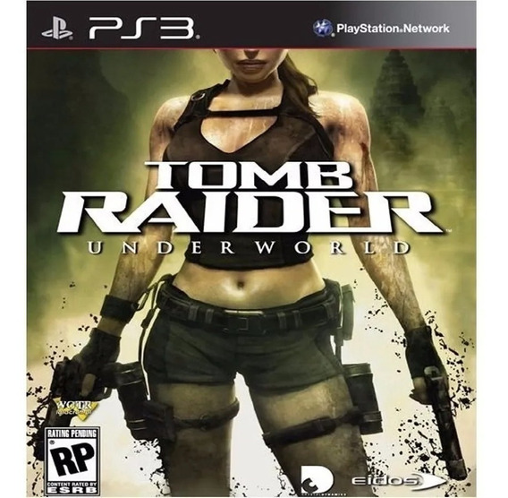Jogo Tomb Raider Underworld Ps3 Psn