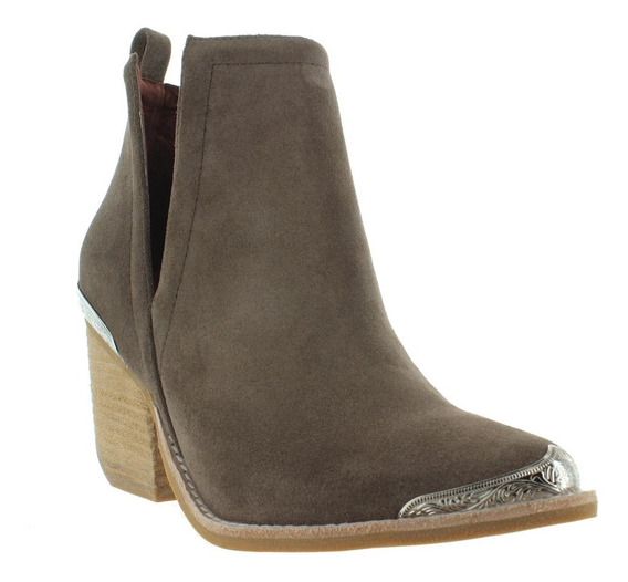 Jeffry Campbell Cromwell Grey Distressed Suede
