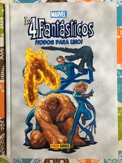 Los 4 Fantásticos Marvel Age Todos Para Uno Tomo Tapa Dura