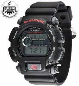 Relogio Casio G-shock Dw 9052-1v 200 Mts Original Na Caixa!