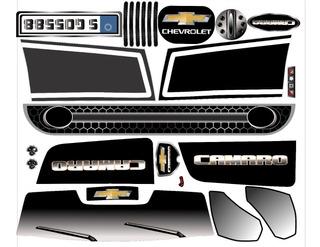 Adesivo Completo Camaro Elétrico 6v Bandeirante