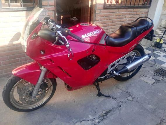 Moto Suzuki Gsx 600 F 1993 Roja 2 Mano