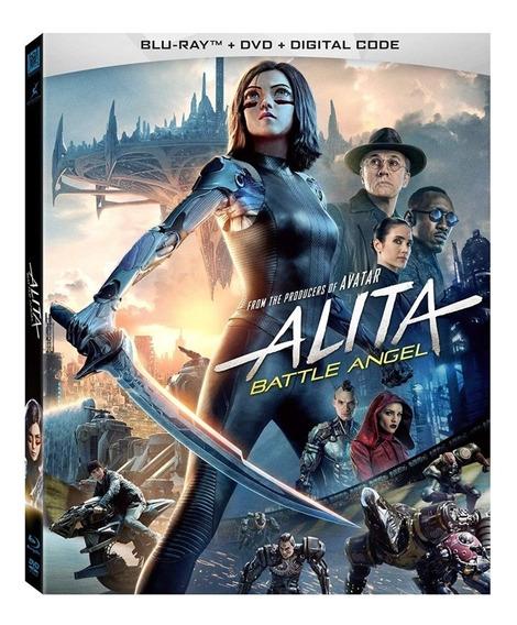 Pelicula Alita Battle Angel Bluray + Dvd + Digital