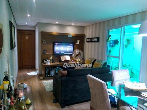 Apartamento Com 2 Dormitórios À Venda, 90 M² Por R$ 380.000,00 - Vila Bocaina - Mauá/sp - Ap0241