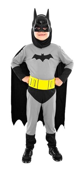 Disfraz Batman Liga De La Justicia Sulamericana Mundo Manias