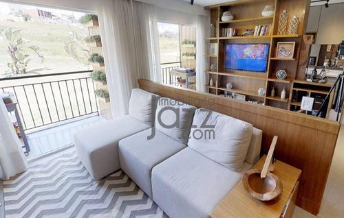 Lançamento - Apartamento Com 2 Dormitórios À Venda, 36 M² Por R$ 175.000 - Jardim Ibirapuera - Campinas/sp - Ap4563