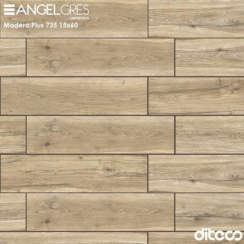Imagen 1 de 3 de Angelgres  735 Madero Plus 15x60
