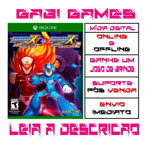 Mega Man X Legacy Collection 1+2 Xbox One Offline + Brinde