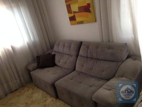 Casa Com 3 Dormitórios À Venda, 100 M² Por R$ 370.000,00 - Vila São Jorge - São Vicente/sp - Ca0815