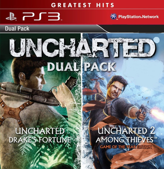 Uncharted 1 + Uncharted 2 Psn Ps3