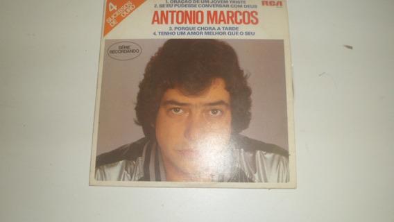 Lp Vinil Pequeno Antônio Marcos Oração De Um Jovem Triste