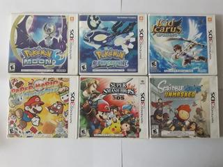 Juegos Pokemon Y Otros Nintendo 3ds (valor Cada Uno ) De 2da