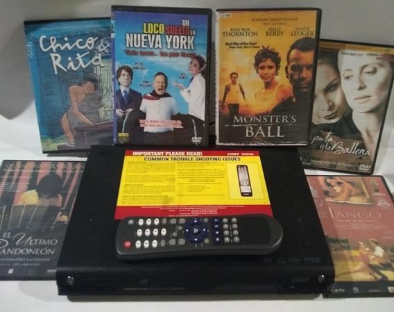 Dvd Coby Usado Oferta Con Peliculas