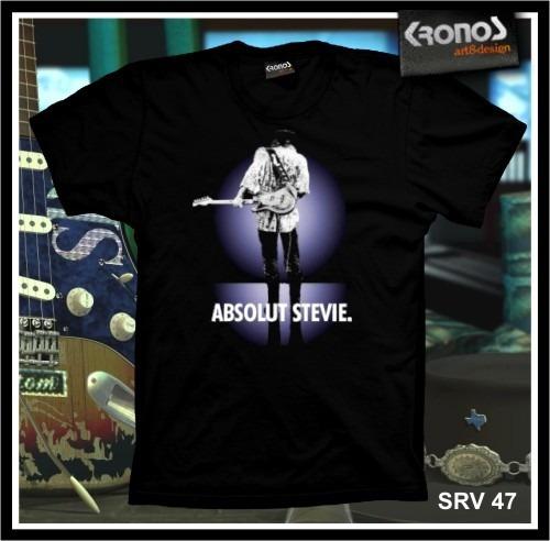 Remeras Stevie Ray Vaughan Rock Blues Guitarra Srv M.047