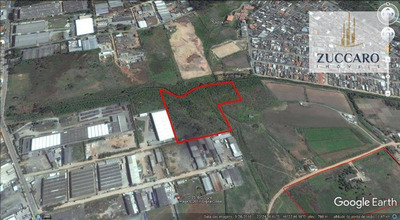 Terreno Industrial À Venda, Vila Nova Bonsucesso, Guarulhos. - Te0582