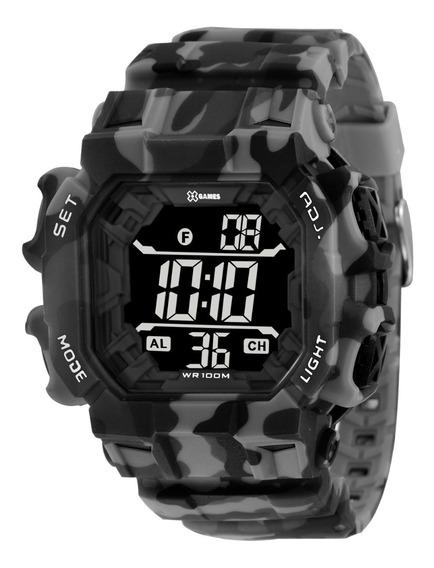 Relógio X-games Masculino Digital Xgppd140 Pxgp Camuflado
