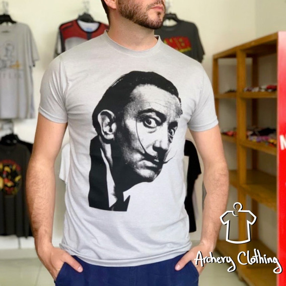 Playera Dalí 2 Mecánico Jeans