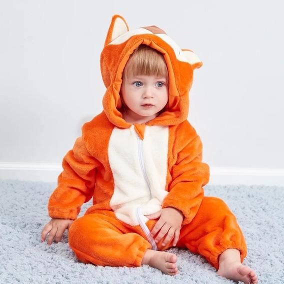 Roupinha De Bebê Macacão Pijama Raposa Fox Pequeno Príncipe