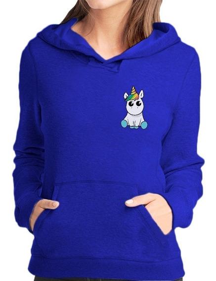 Blusa Moletom Casaco Unicornio Bebezinho Coloridos Unisex
