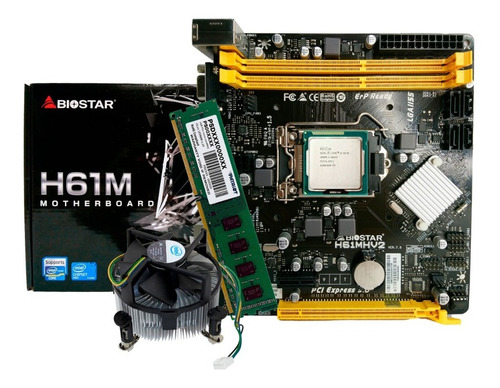 Combo Tarjeta Madre  Procesador Corei5 Socket 1155 + Memoria