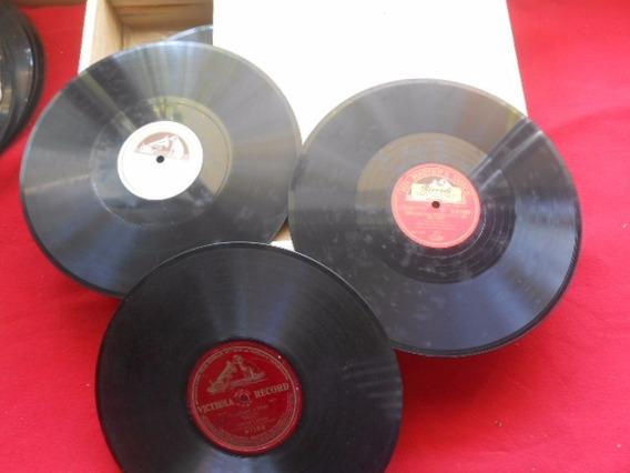 Enrico Caruso 3 Discos 78 Rpm (um Gravado Um Lado) Compre Já
