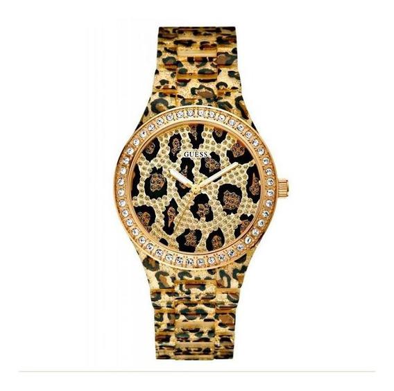Relógio Guess Acetato De Onça Animal Plant - 92483l0gsnp1