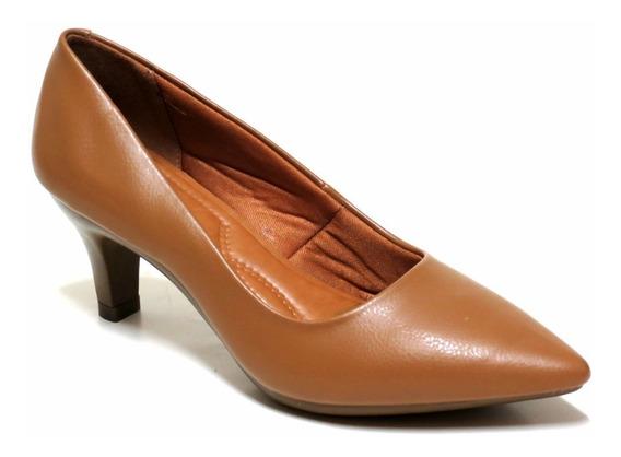 Zapatos Mujer Stilettos Taco Bajo Chocolate 10420