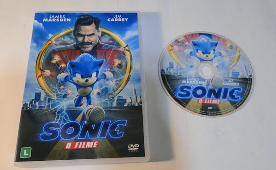 Dvd - Sonic - O Filme - Dublado E Legendado
